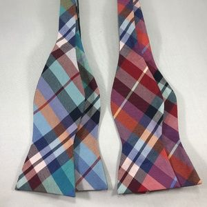 Tommy Hilfiger Men's Woven Bow Tie Bundle of 2